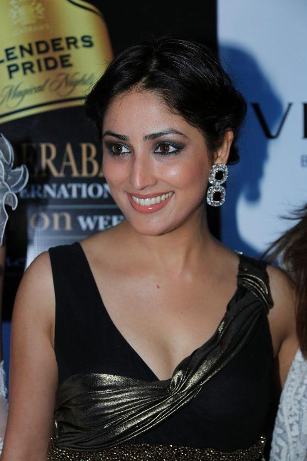 Yami Gautam Flashes Smile At BPH International Fashion Week 2012