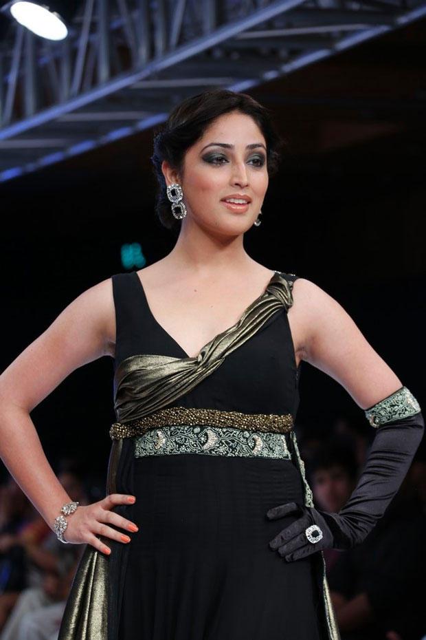 Yami Gautam Ramp Walk At BPH International Fashion Week 2012