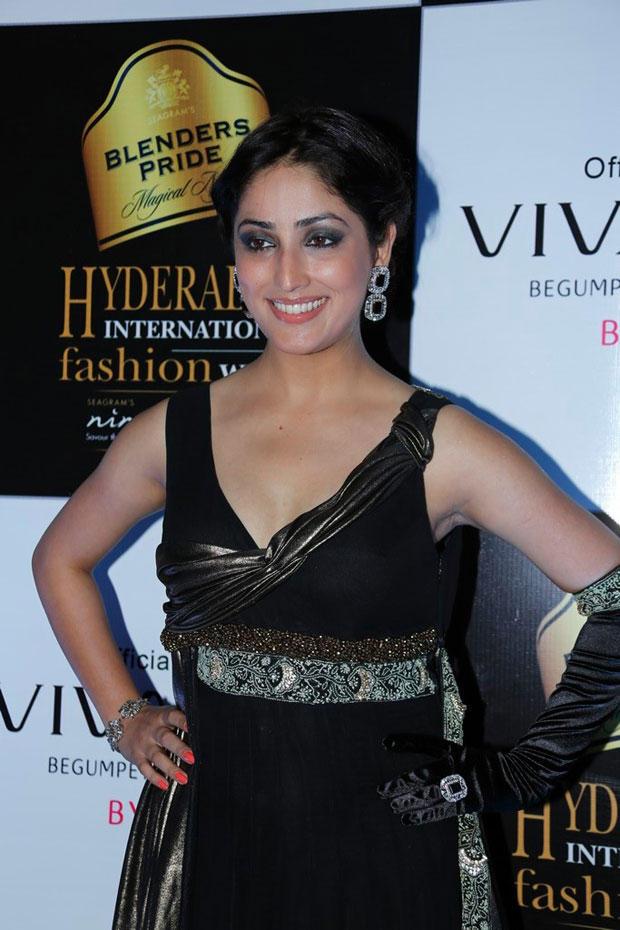 Yami Gautam Strikes A Pose At BPH International Fashion Week 2012