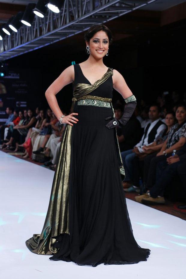 Yami Gautam Walks On Ramp At BPH International Fashion Week 2012