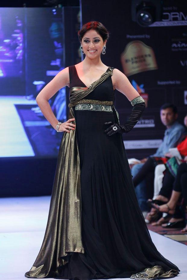 Yami Glamour Look On Ramp At BPH International Fashion Week 2012