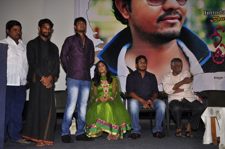 Tammareddy With Team Photo Clicked At Memiddaram Preminchukunnam Movie Audio Launch