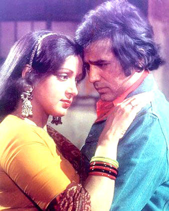 Rajesh Khanna And Hema Malini Nice Still