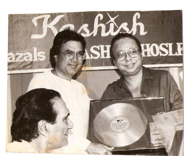 Rajesh Khanna, R. D. Burman And B. R. Chopra Nice Still