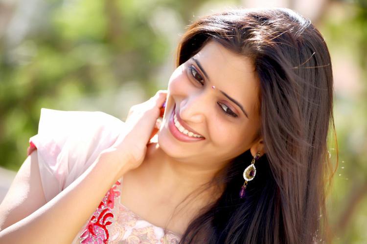 Riya Chakravarthi Cute Smiling Still
