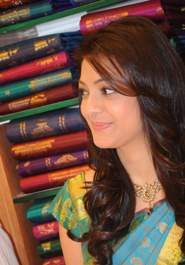 Kajal Aggarwal Dazzles At South India Shopping Mall Launch Event