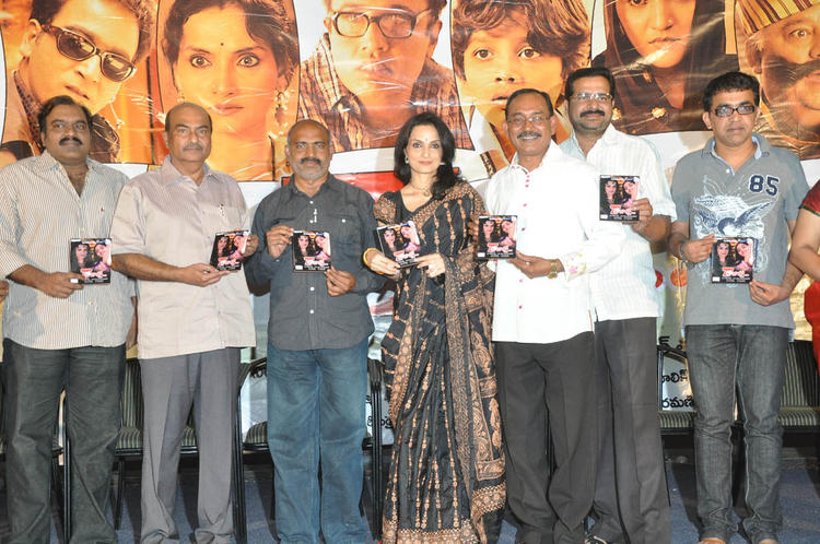 Rajeshwari Sachdev And Others Show The Audio CD At 7 Rojullo Audio Release Function
