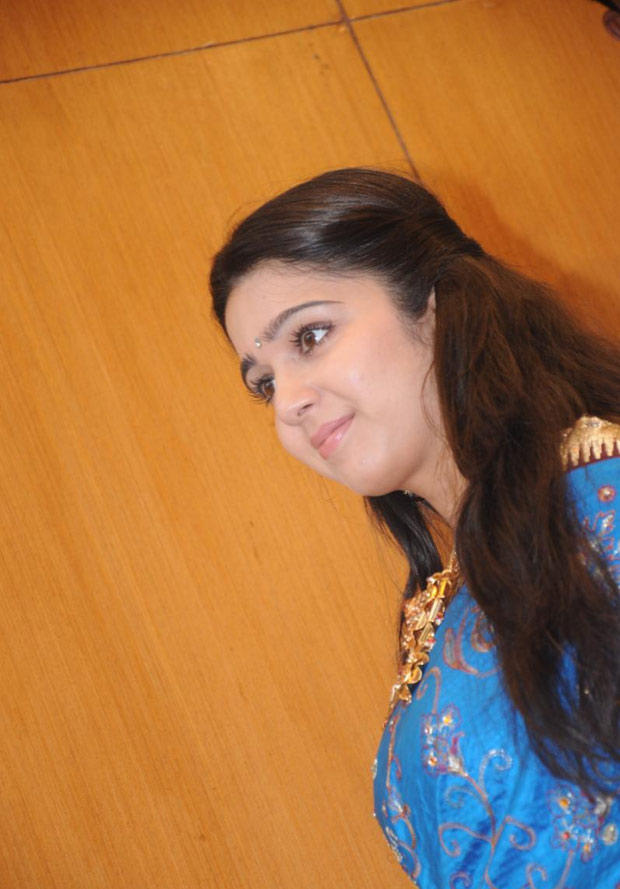 Charmi Spotted At SVR Brothers Showroom Launch Event