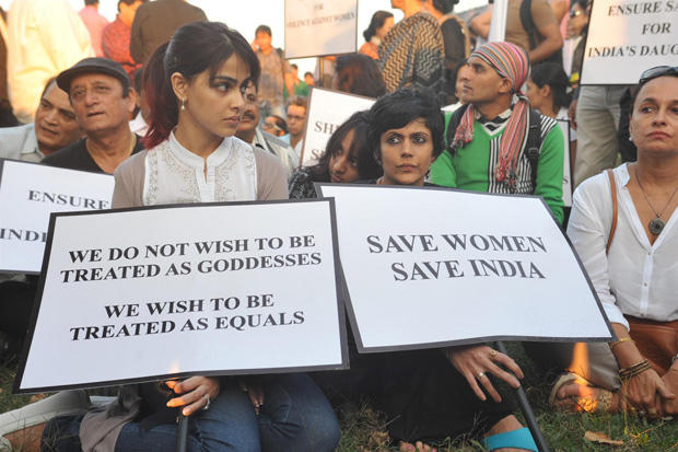 Genelia And Mandira Protest Delhi Gang Rape Atrocity By Candle Light Rally