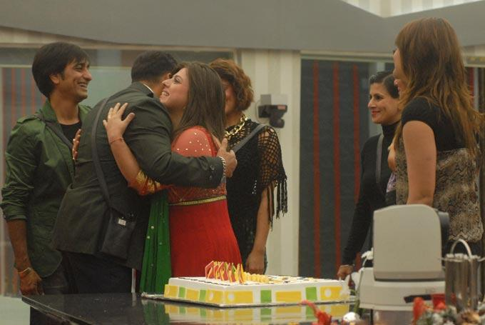 The Bigg Boss Contestants Celebrate Salman Khans Birthday Photo