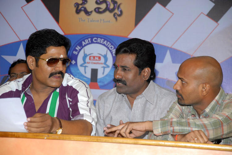 Srihari Attend The James Talent Hunt Logo Launch Event