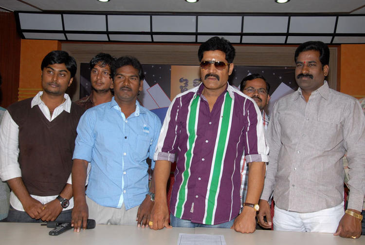 Srihari Clicked At James Talent Hunt Logo Launch Event