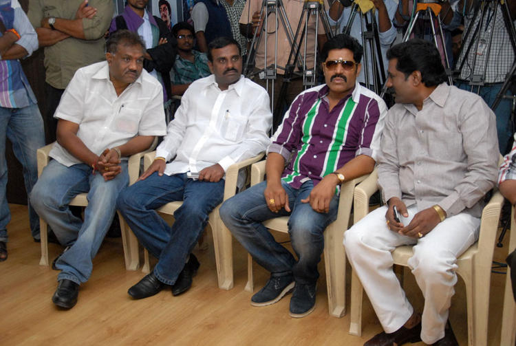 Srihari Graced At James Talent Hunt Logo Launch Event
