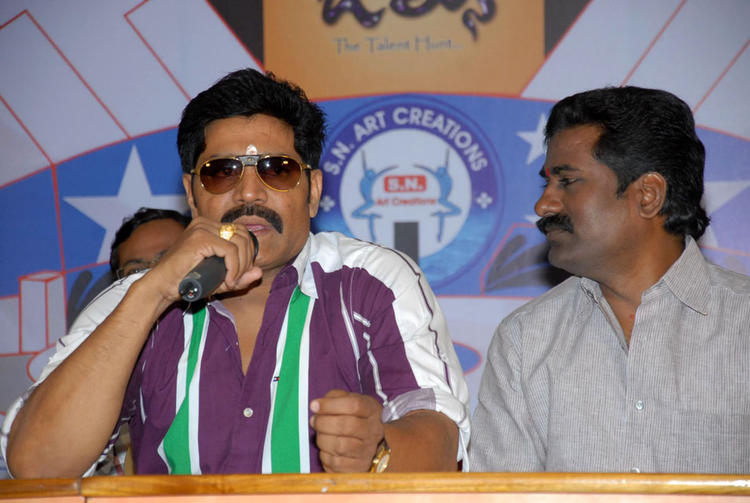 Srihari At James Talent Hunt Logo Launch Event