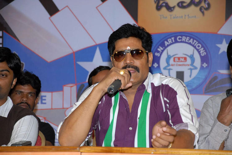 Srihari Speaks Still At James Talent Hunt Logo Launch Event