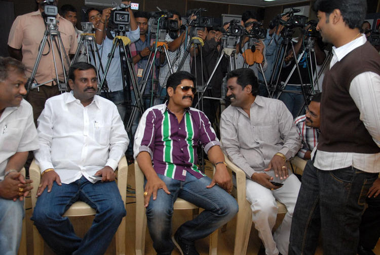 Srihari Spotted At James Talent Hunt Logo Launch Event