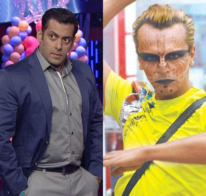 Salman Khan And Imam Siddiqui Cool Still