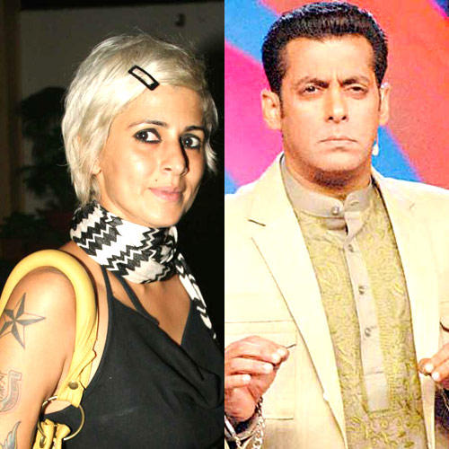 Salman Khan And Sapna Bhavnani Good Looking Still