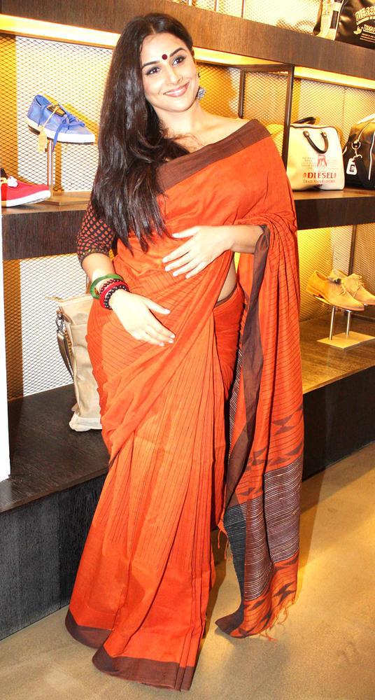 Vidya Balan At An Event To Promote Kahaani
