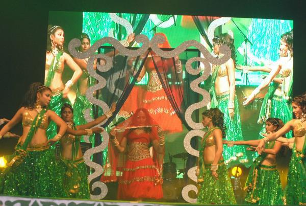 Bipasha Basu Fabulous Dance Performance At Saifai Mahotsav 2012