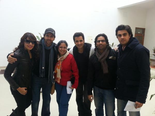 Bipasha,Hrithik And Others Clicked At Saifai Mahotsav 2012