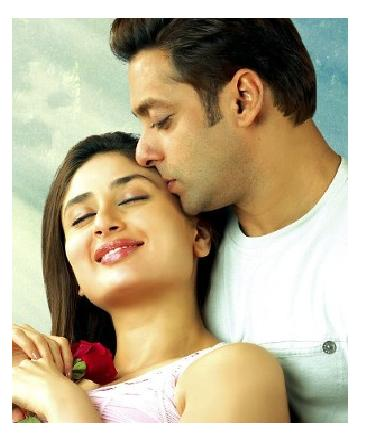 Salman and kareena Romance Still