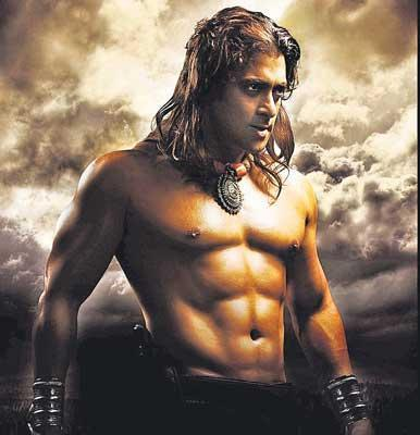 Salman Khan Six Pack Still In Veer