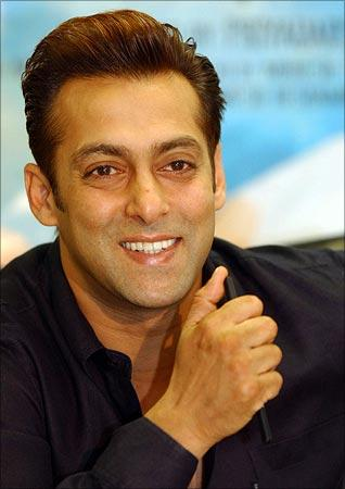 Salman Khan smiling Photo
