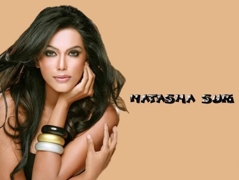 Natasha Suri Close Up Pic Glamour Wallpaper