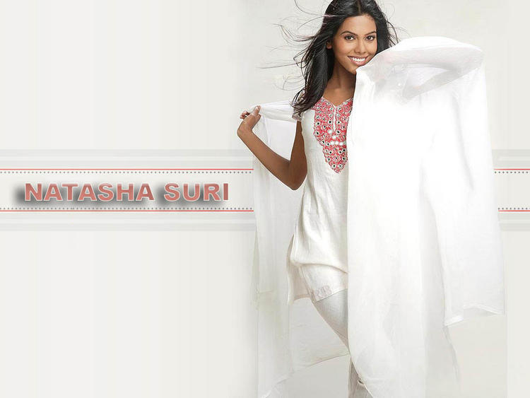 Natasha Suri White Salwar Suit Sweet Wallpaper