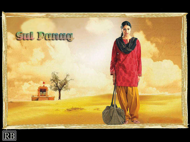Gul Panag Full Dress Simple look Wallpaper