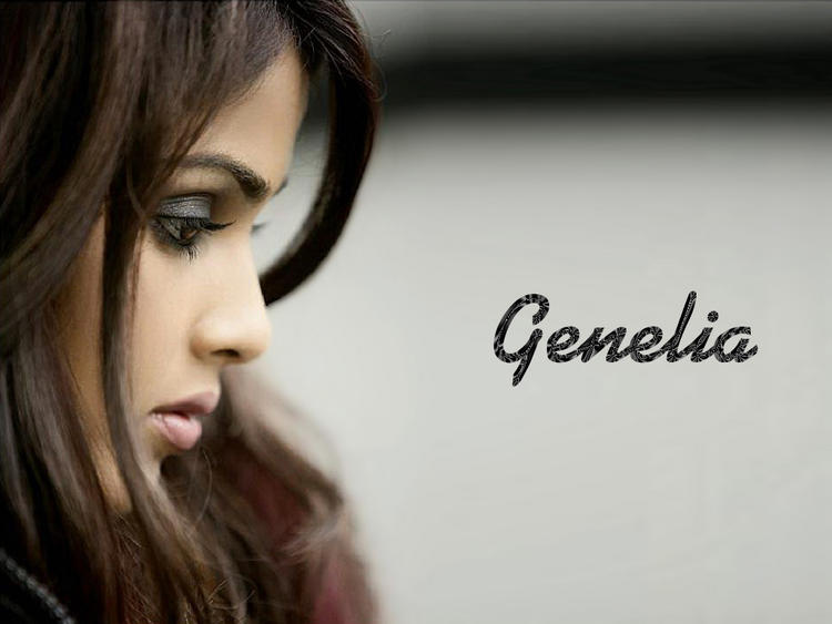 Genelia D'souza Cool Look Wallpaper