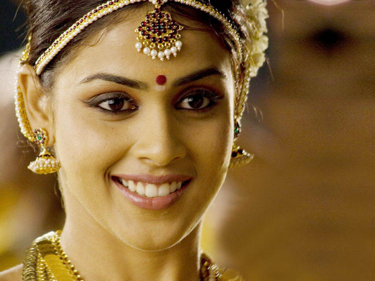 Genelia D'souza South Indian Look Walpaper