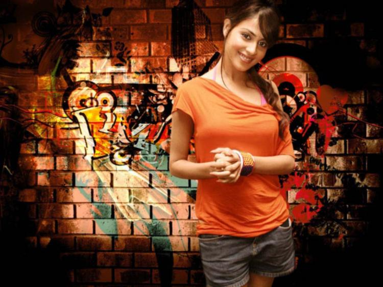 Mini Dress Genelia D'souza Cute Wallpaper