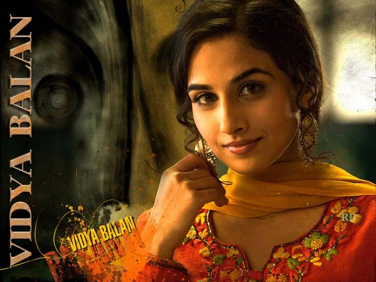 Vidya Balan Sweet Cool Look Wallpaper