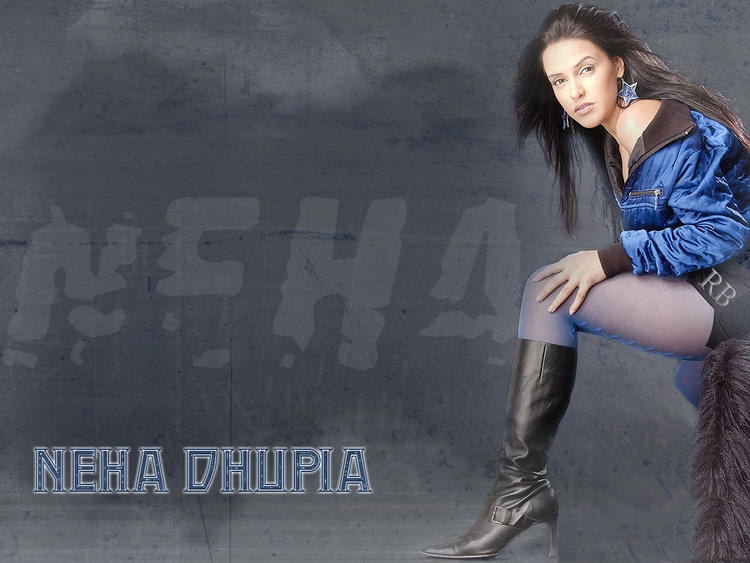 Neha Dhupia Sexy Wallpaper