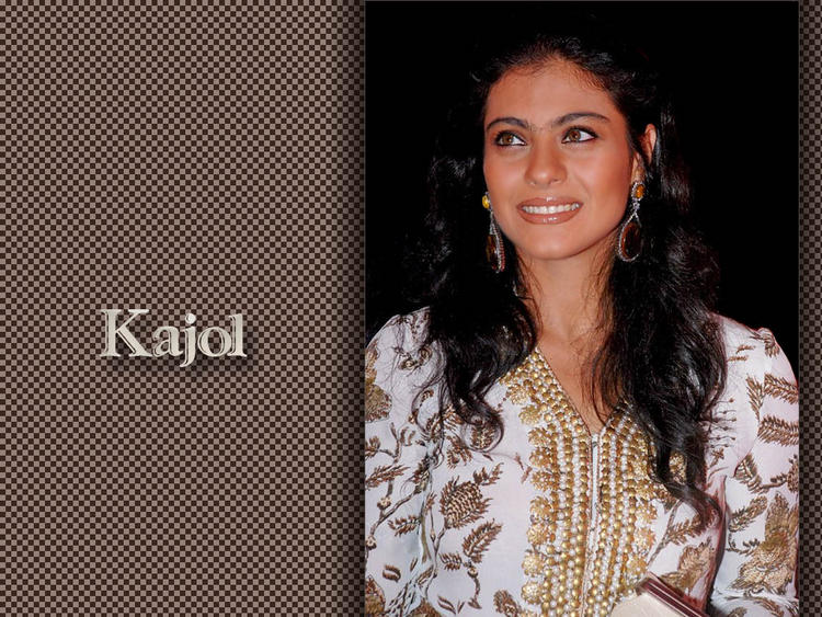 Dusky Beauty Kajol Devgan Wallpaper