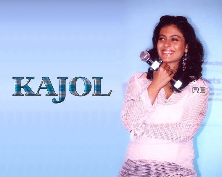 Kajol Devgan Cute Hair Style Sweet Wallpaper