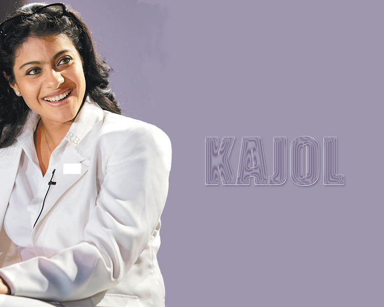 Kajol Devgan Sweet Wallpaper With White Blazer