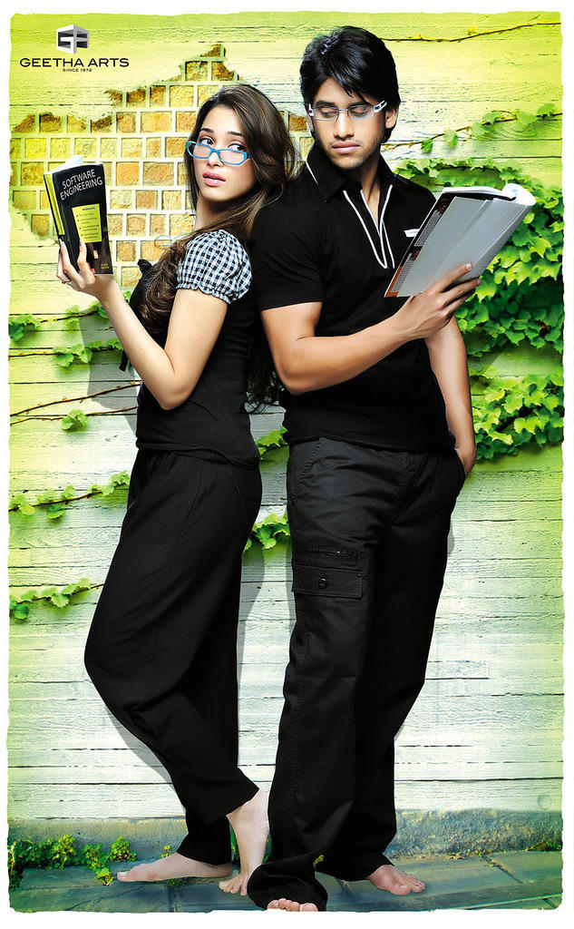 Love Movie Naga Chaitanya and Tamanna Cute Images
