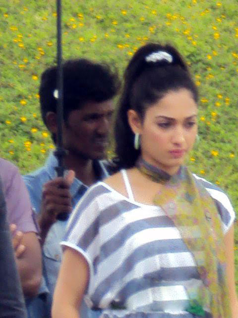 Tamanna Shooting Set Still