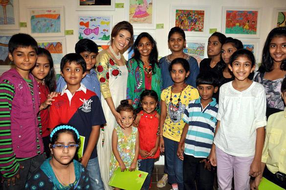 Celebs at Poonam Salecha Painting Exhibition