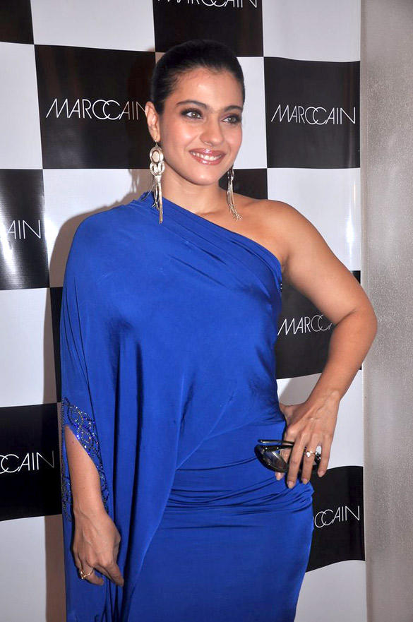 Bollywood Actress Kajol Devgan Graces Marc Cain Preview Event