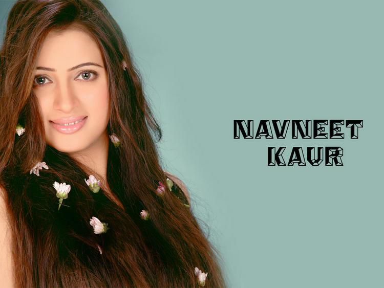 Navneet Kaur Beauty Face Wallpaper