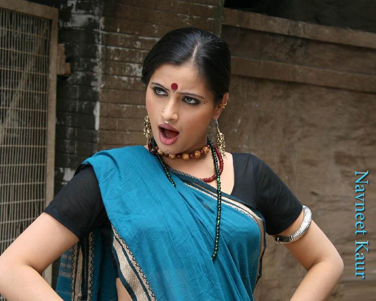 Navneet Kaur Cute Acting Still