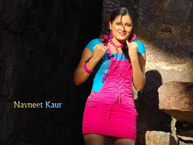 Navneet Kaur Cute Dress Latest Cute Wallpaper