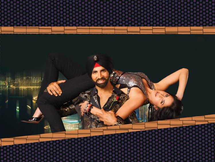 Akshay Kumar and Katrina Kaif in Singh Is King