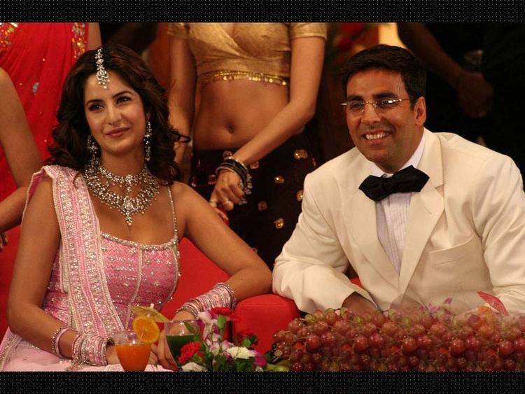 Akshay Kumar and Katrina Kaif In Welcome