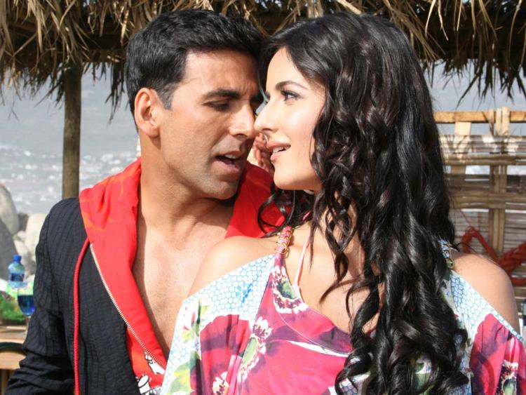 Akshay Kumar Romance with Katrina