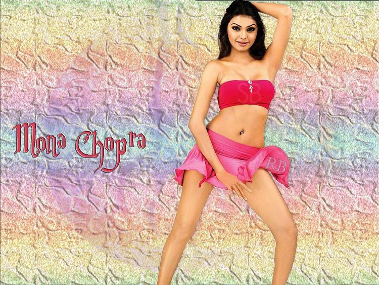 Mona Chopra Mini Skirt Hot Wallpaper